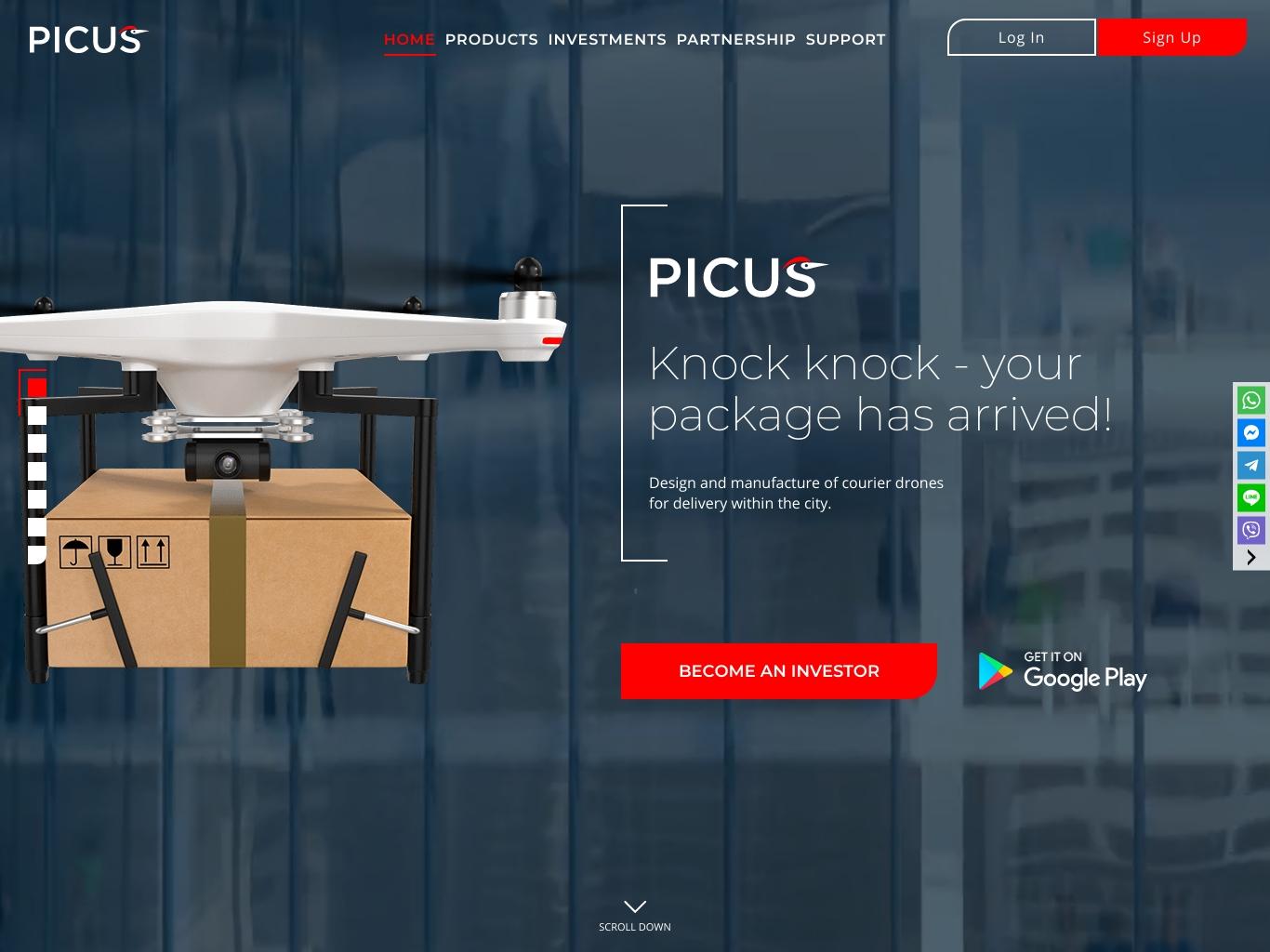 Design Of picus.biz
